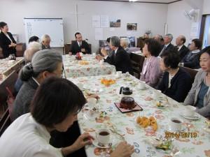 2014.10.19礼拝後 講師を囲む茶話会