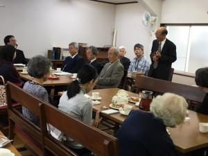 2016年講師を囲む会(藤田浩喜牧師)